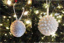 Handmade Christmas Ornament Decorations