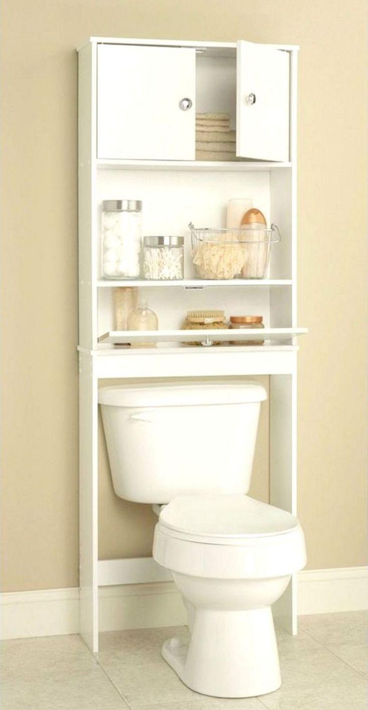 Idea Small Bathroom Storage Over Toilet