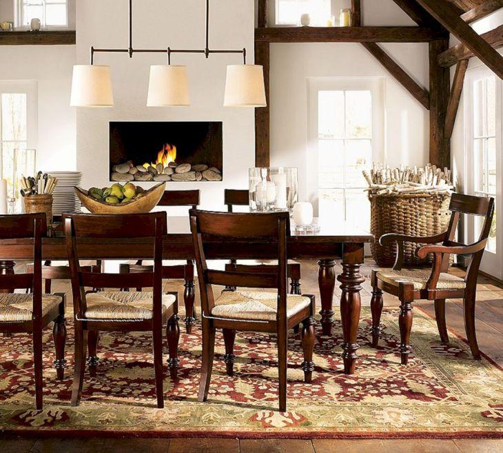Rustic Dining Room Light