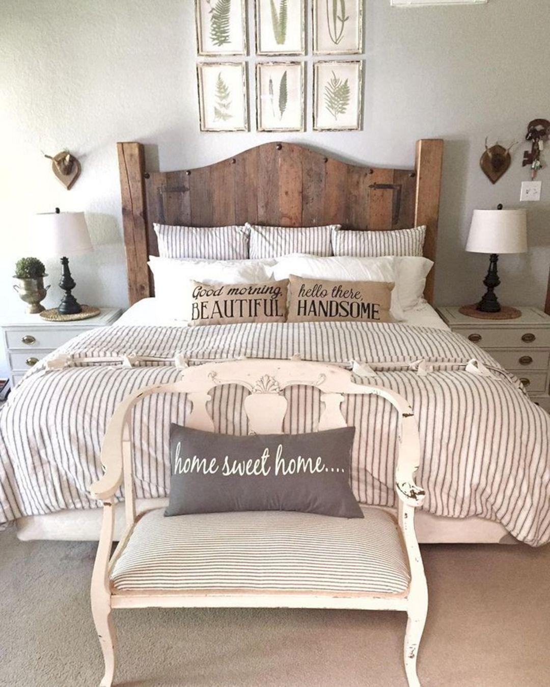 Rustic Farmhouse Bedroom Decor