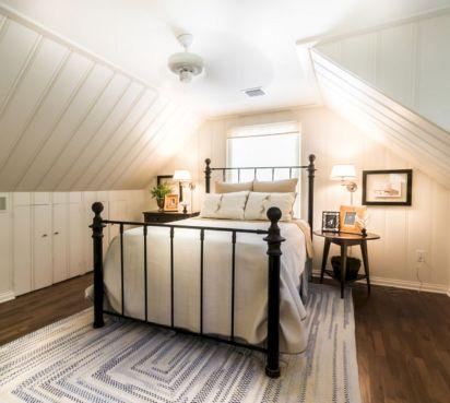 Rustic Farmhouse Bedroom Design