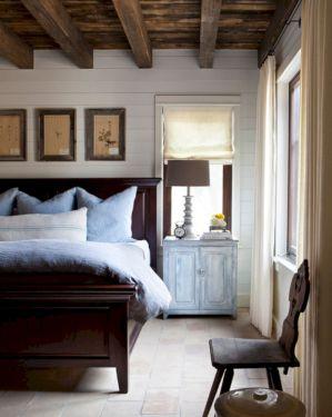 Rustic Shiplap Walls Bedroom