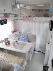 Shabby Chic Vintage Camper Trailer Interiors