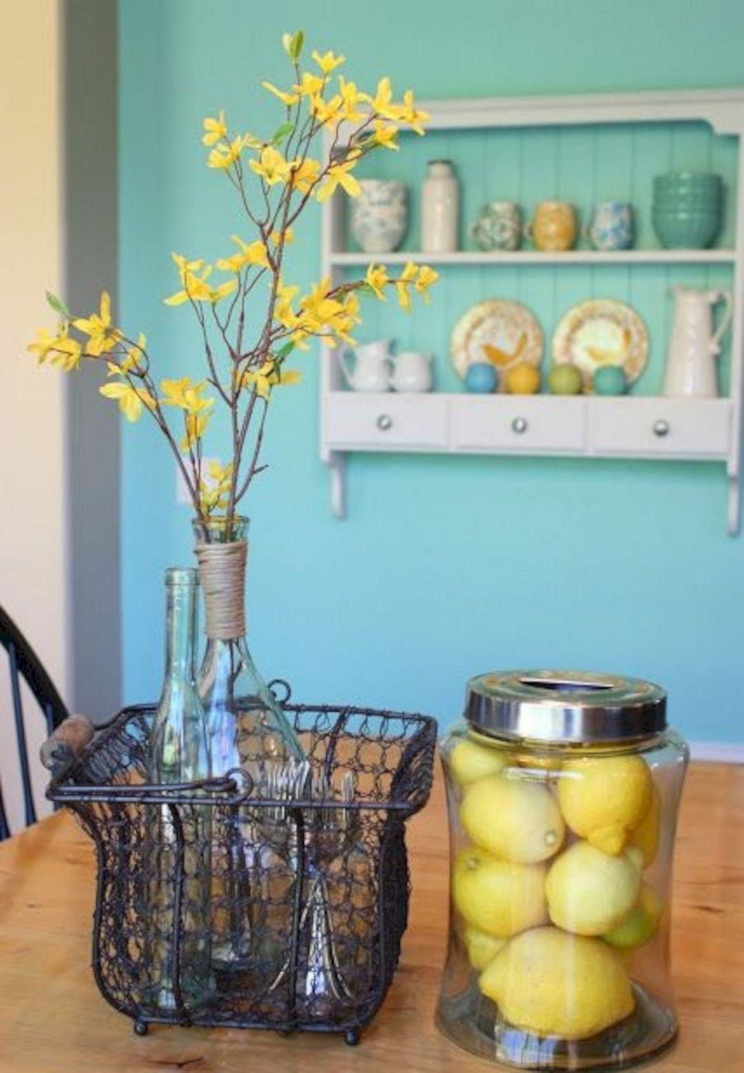 Spring Home Decor Ideas Part - 48: Spring Kitchen Decorating Ideas