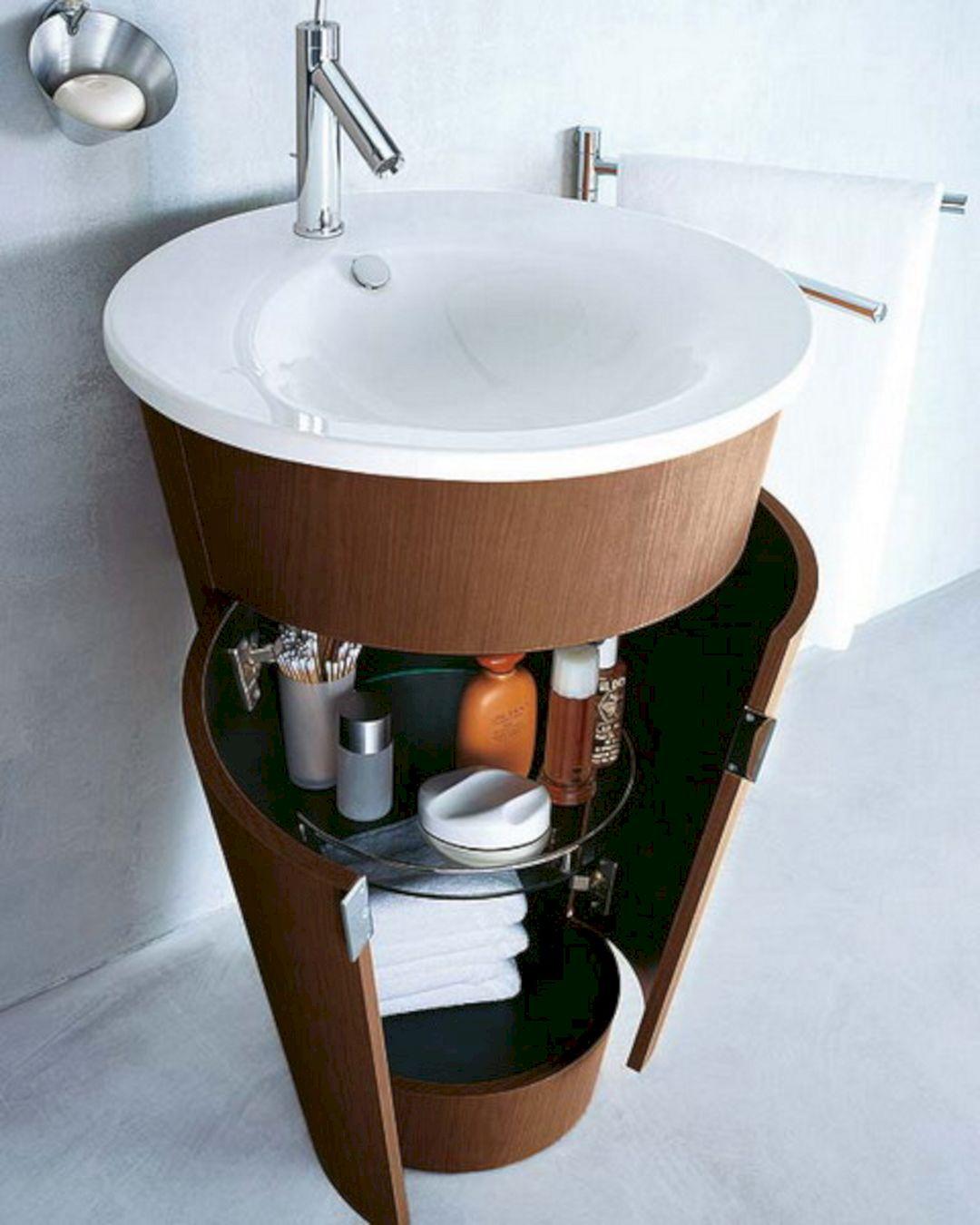 Storage Bathroom Small Ideas Sink