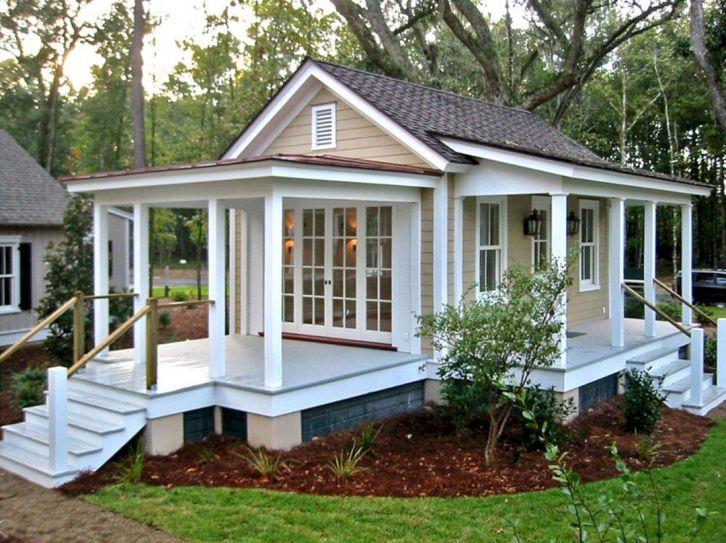 Tiny Backyard Guest House Plan