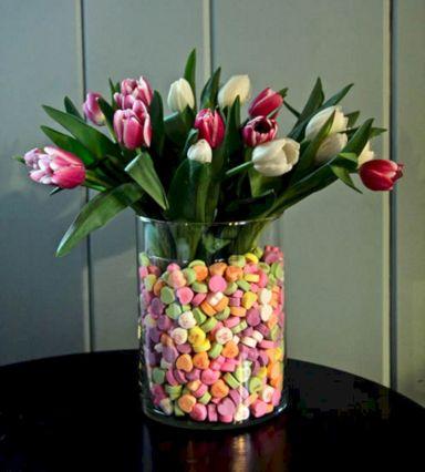 Valentine Flower Arrangement Ideas