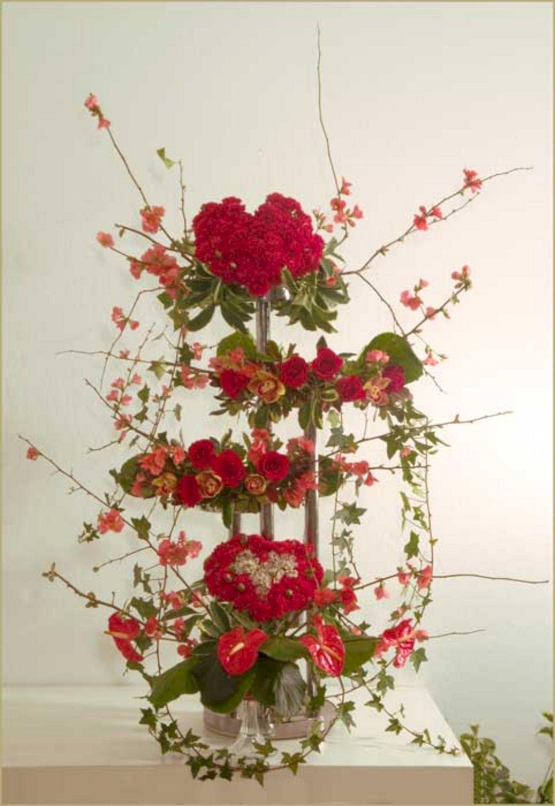Valentine Flower Arrangements Ideas Decoredo
