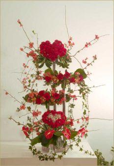 Valentine Flower Arrangements Ideas