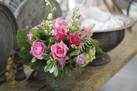 Valentine's Day Flower Arrangement Design