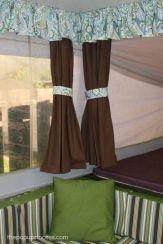 Vintage Camper Curtain