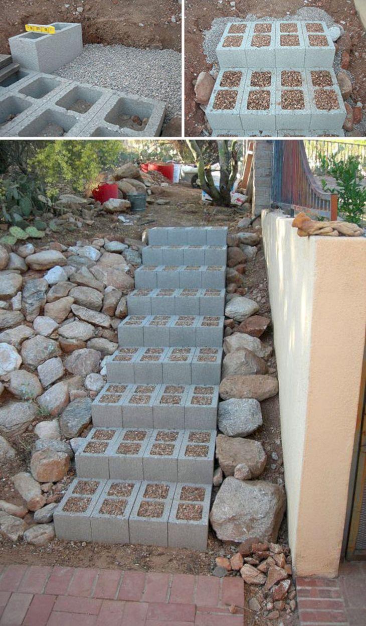 Concrete Cinder Blocks Projects