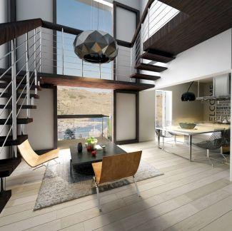 Contemporary Modern Rustic Homes Decor Ideas