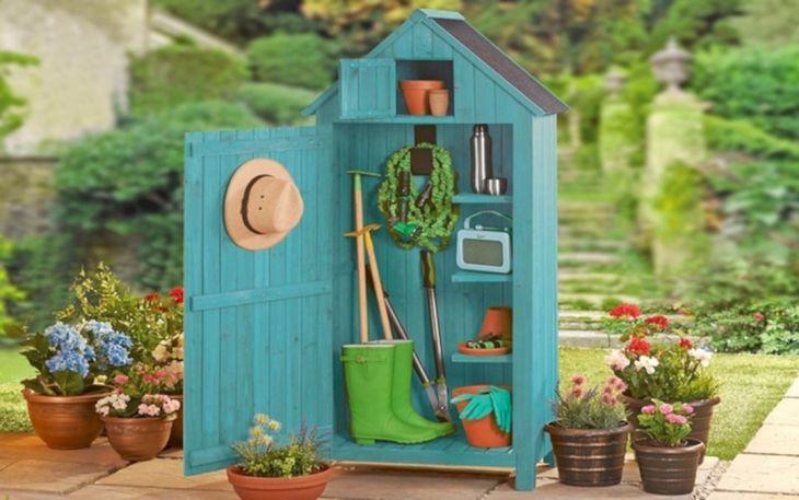 DIY Garden Shed Decorating Ideas