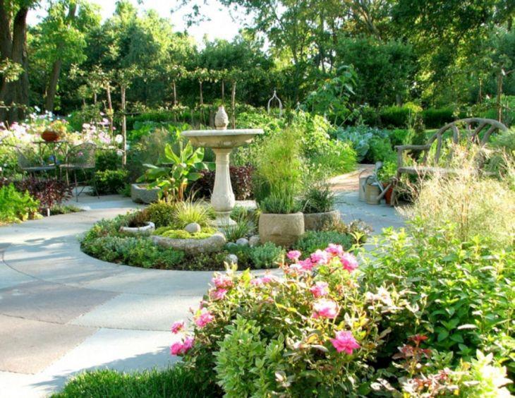 French Country Garden Design