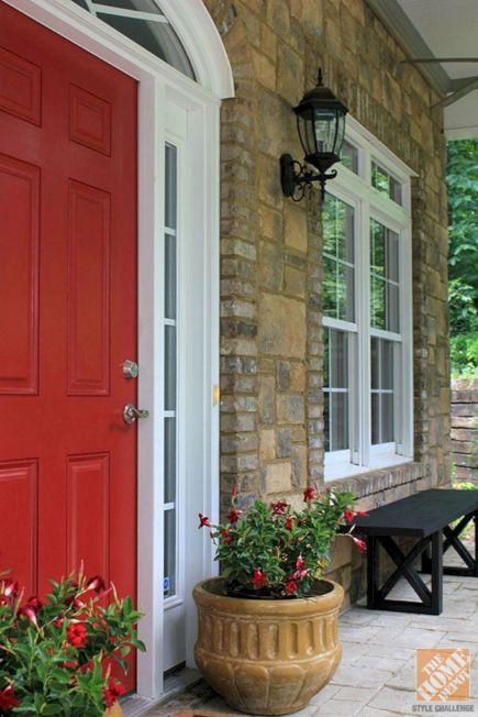 Front Idea Porch Door