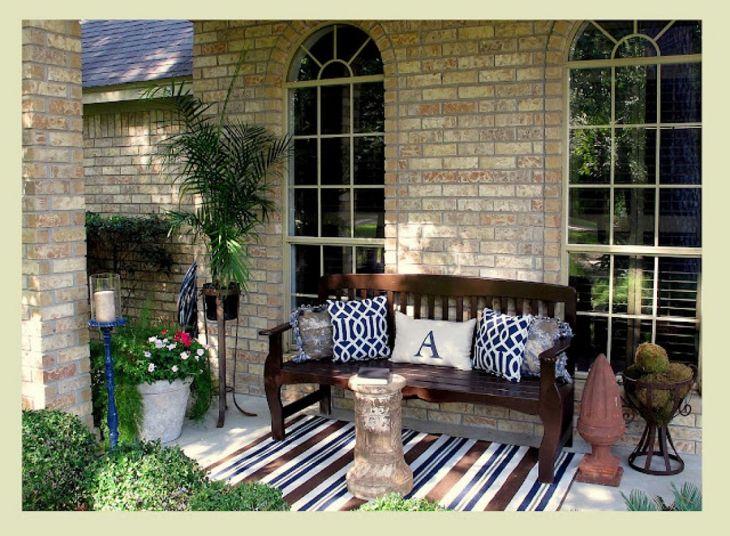 Front Porch Decorating Ideas Design