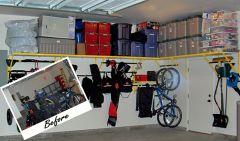 Garage Storage Organization Idea