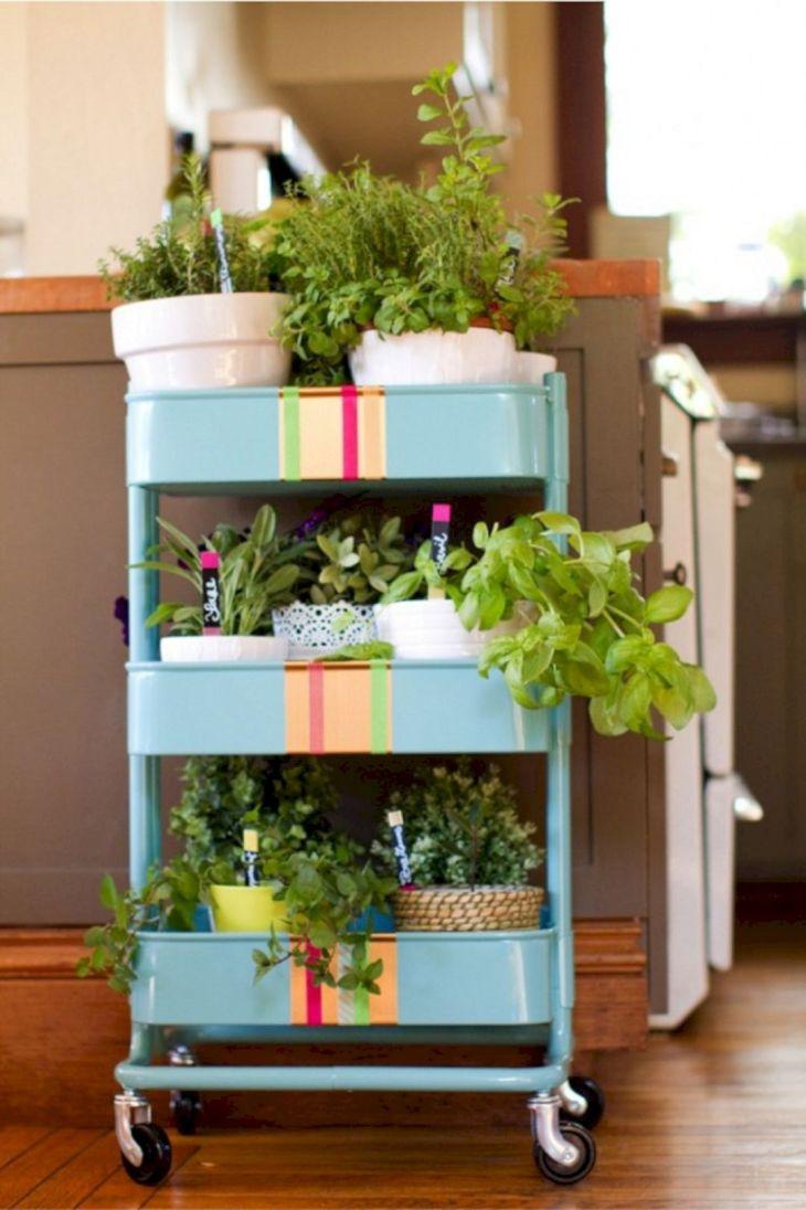 IKEA Herb Garden Cart