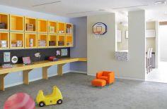 Kids Basement Playroom Idea