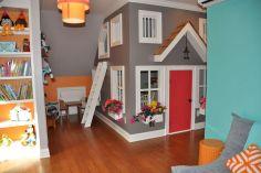 Kids Playroom Design Idea