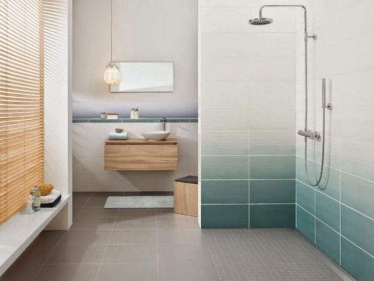 Ombre Tile Shower