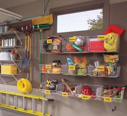 Organizing Garage Storage