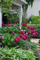 Peonies Flower Garden Design