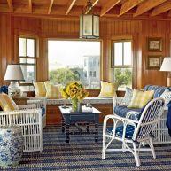Rustic Coastal Decor for Living Room