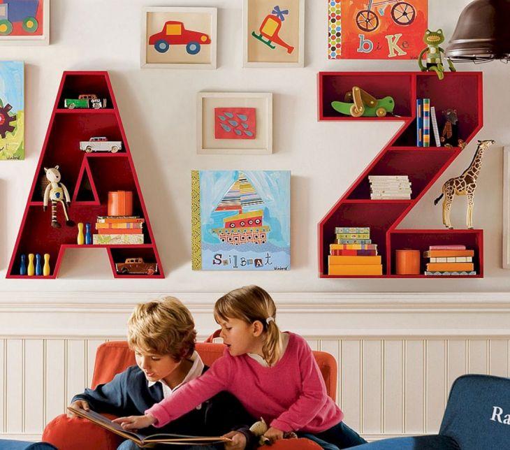 Shelves for Wall Kids Room Ideas