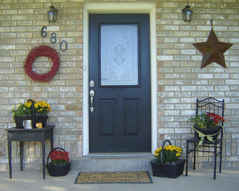 Small Front Porch Decorating Idea Decoredo