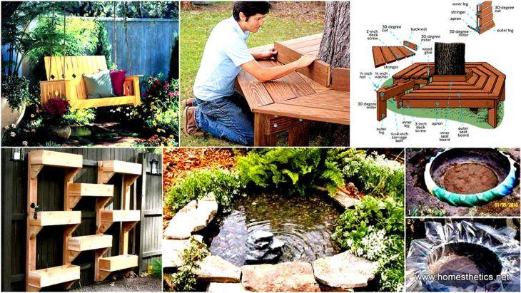 Back Yard DIY Garden Projects