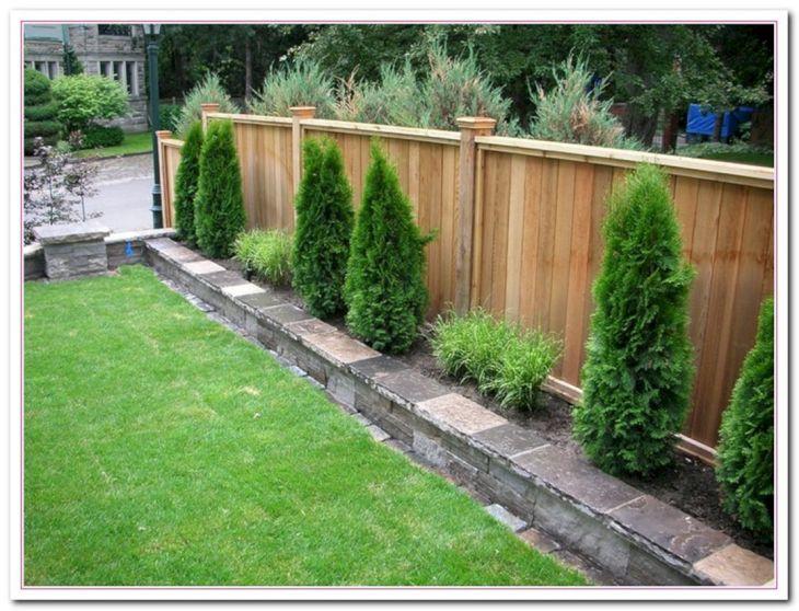 Back Yard Garden Fence Ideas