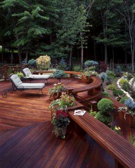 Backyard Deck Idea Patio Design Ide
