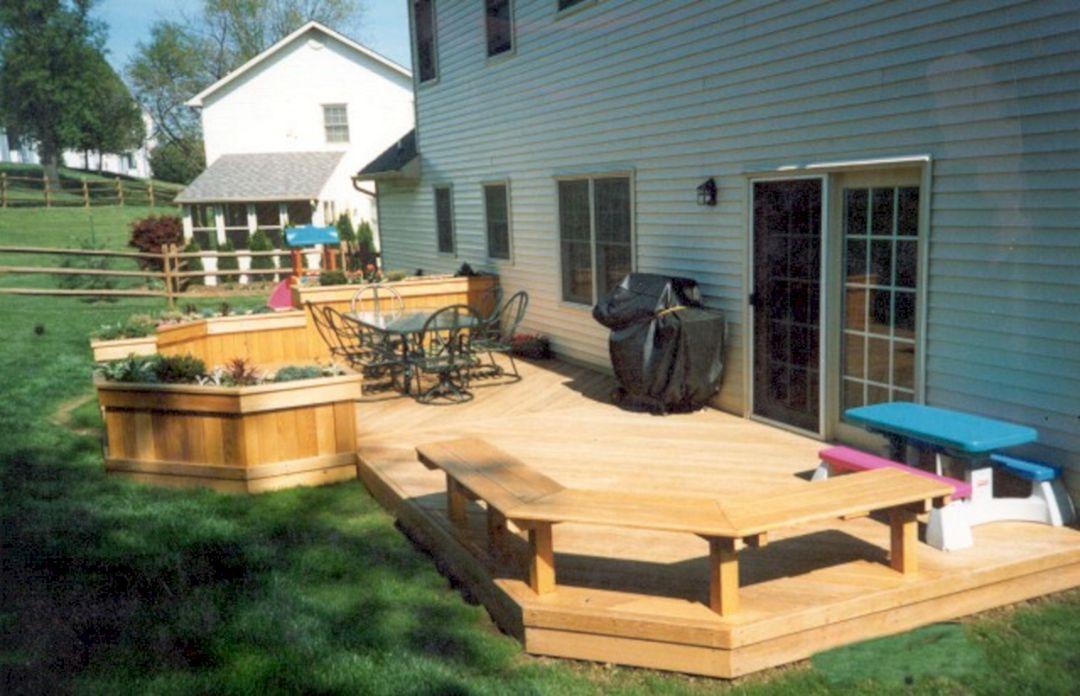 Backyard Deck Idea Patio Design Ideas Decoredo