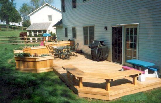 Backyard Deck Idea Patio Design Ideas
