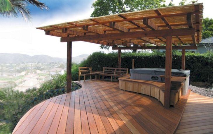 Backyard Deck Ideas Patio Design