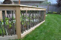 Backyard Vegetable Garden Fences