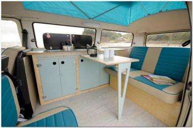 Camper Van Interior Ideas Design