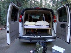 Cargo Van Camper Conversion