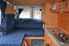 DIY Camper Van Interior
