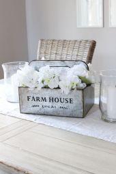 Farmhouse Centerpiece DIY