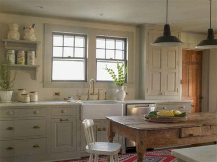 Farmhouse Kitchen Paint Colors