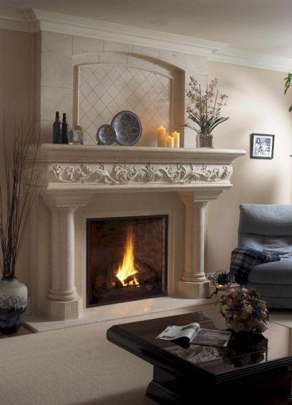 Fireplace Mantel Decorating Ideas