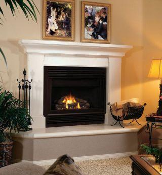 Fireplace Mantel Design Idea