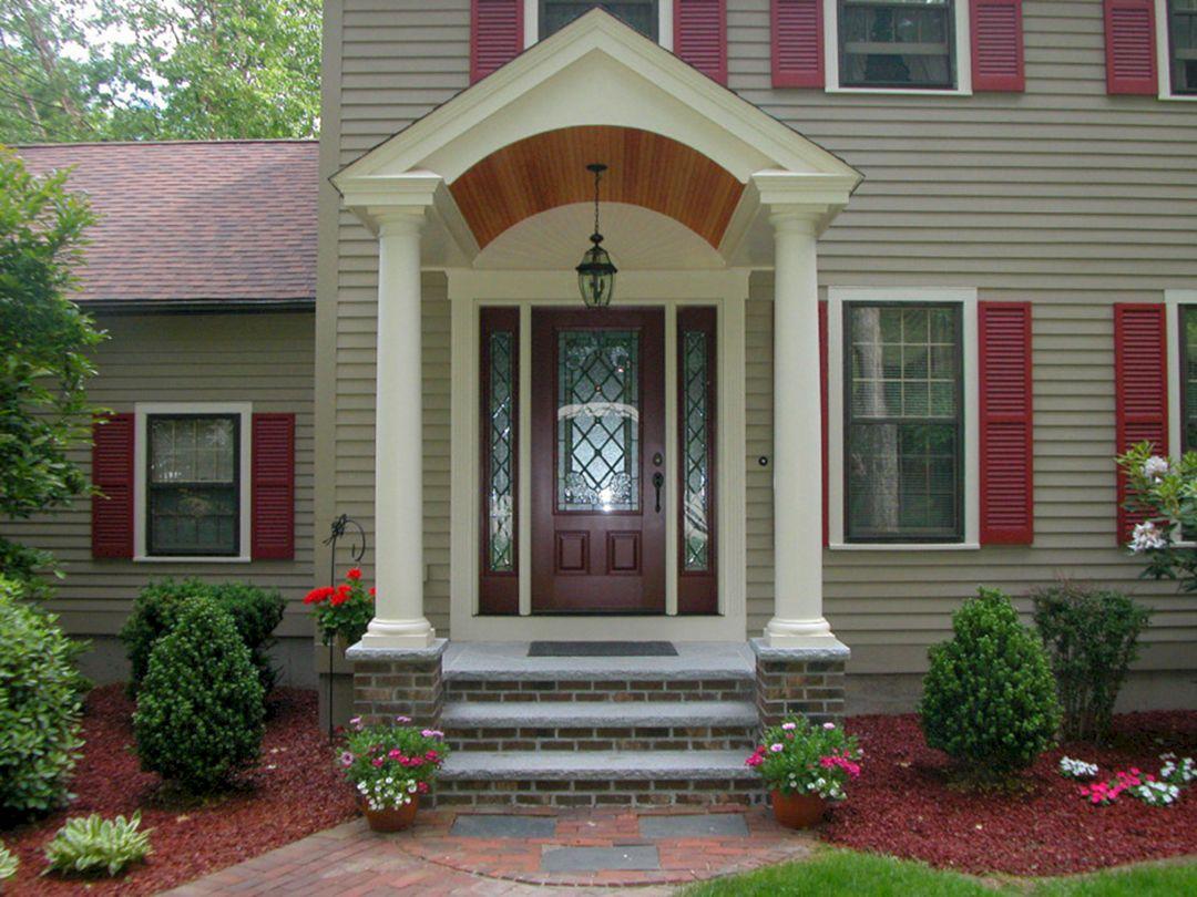 Front Door Porch Design Ideas