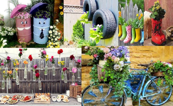 Garden Craft Ideas for Decorations