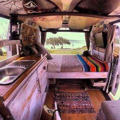 Hippie Camper Van Interior Ideas