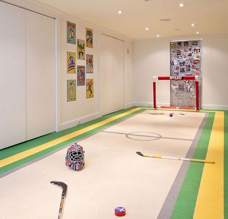 Hockey Basement Idea