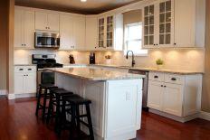Ice White Shaker Kitchen Cabinets